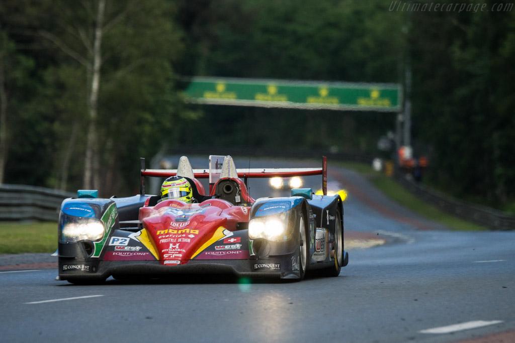 Oreca 03R Nissan  - Entrant: Race Performance - Driver: Nicolas Leutwiler / Shinji Nakano / James Winslow - 2016 24 Hours of Le Mans