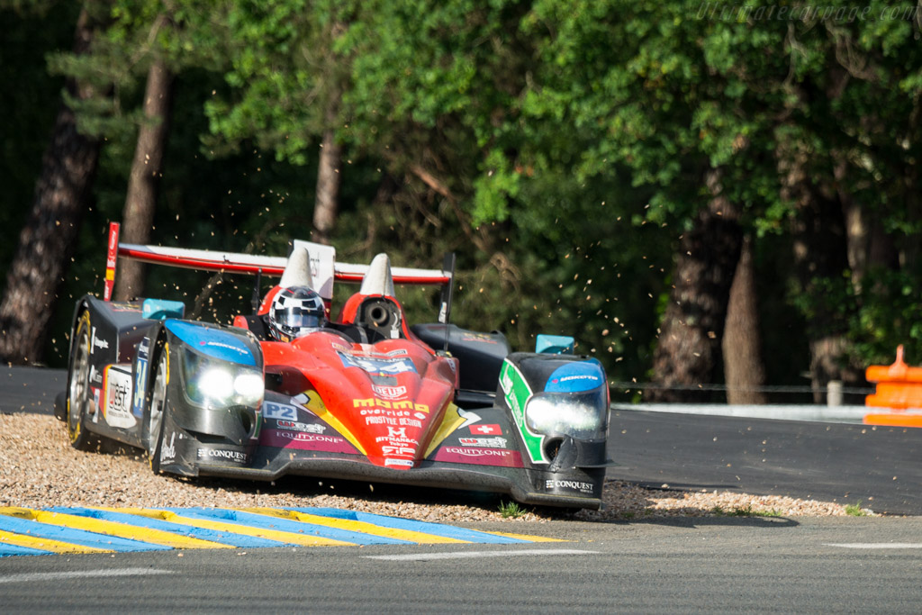 Oreca 03R Nissan  - Entrant: Race Performance - Driver: Nicolas Leutwiler / Shinji Nakano / James Winslow  - 2016 24 Hours of Le Mans