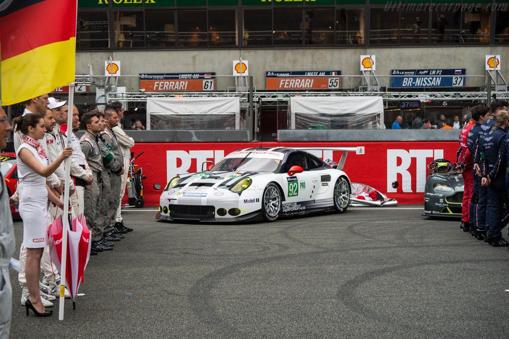 Porsche 911 RSR  - Entrant: Porsche Motorsport - Driver: Frederic Makowiecki / Earl Bamber / Jorg Bergmeister  - 2016 24 Hours of Le Mans