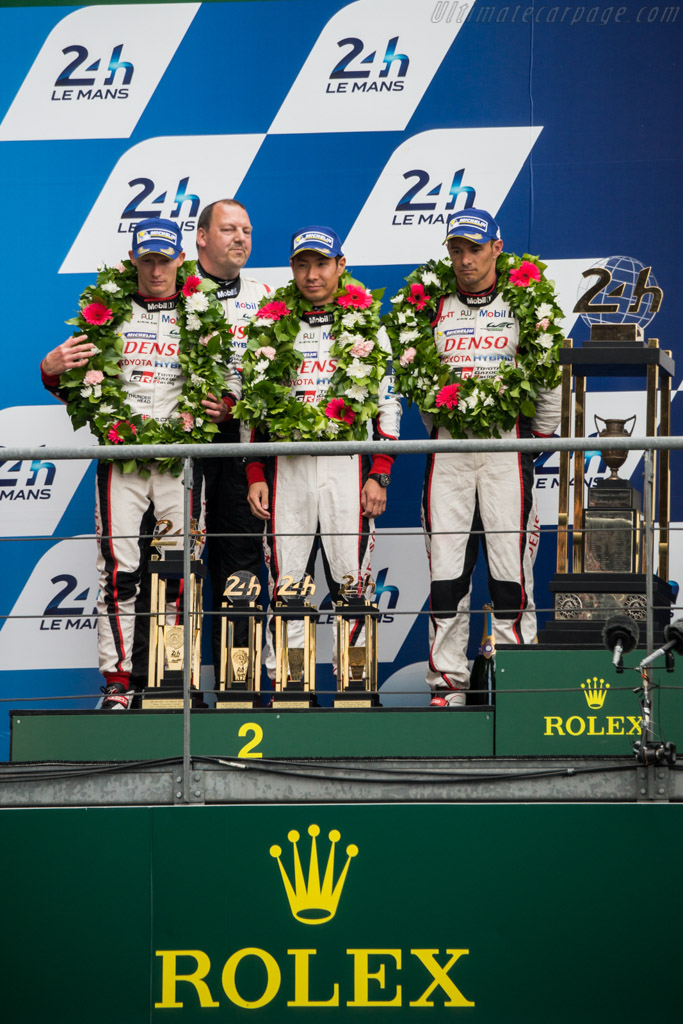 Second placed Toyota Drivers    - 2016 24 Hours of Le Mans