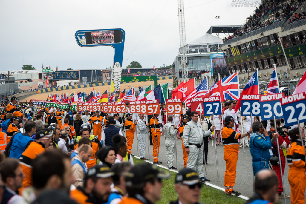 The Grid    - 2016 24 Hours of Le Mans