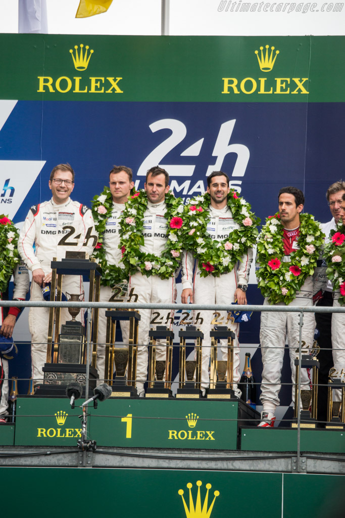 The winning drivers    - 2016 24 Hours of Le Mans