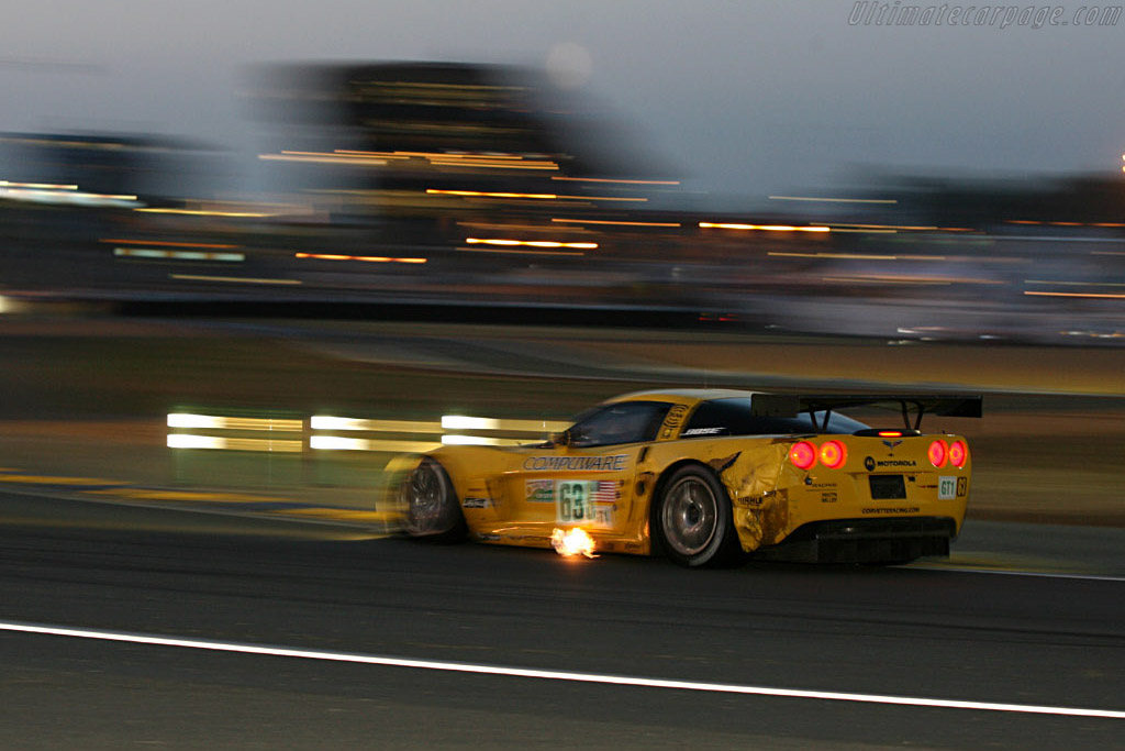 Afterburner - Chassis: 003 - Entrant: Corvette Racing  - 2006 24 Hours of Le Mans
