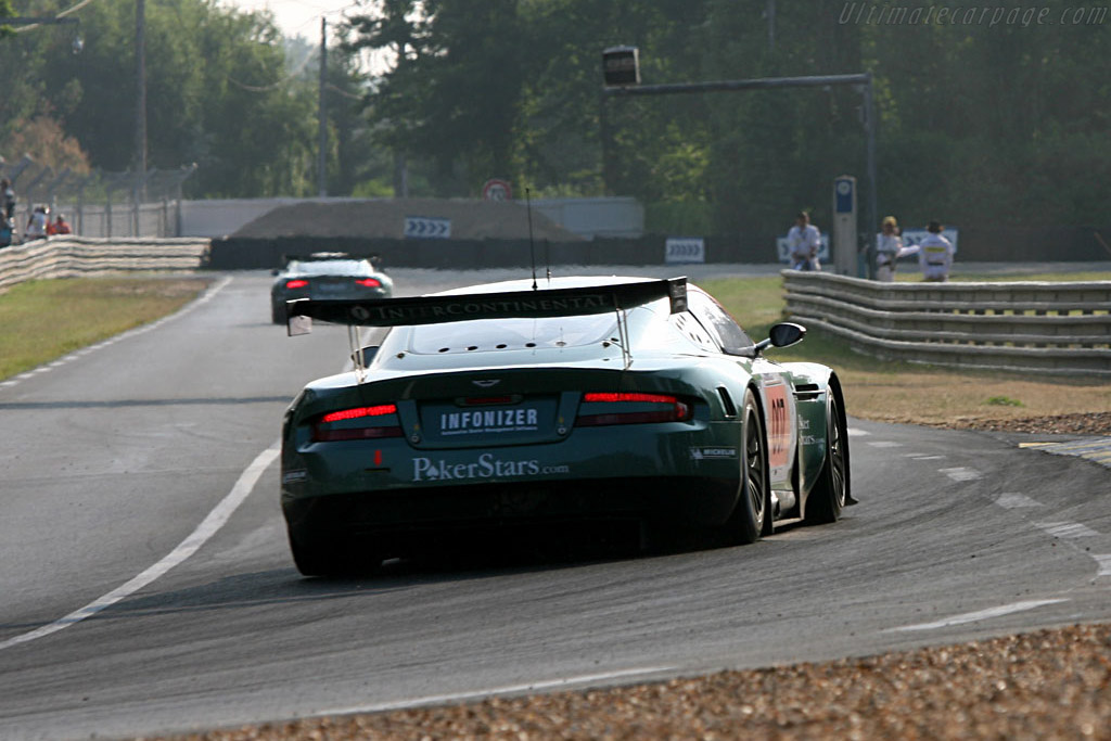 Aston Martin DBR9 - Chassis: DBR9/3 - Entrant: Aston Martin Racing  - 2006 24 Hours of Le Mans