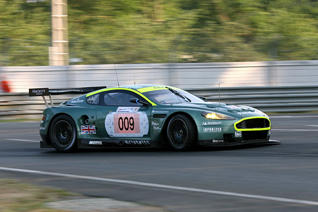 Aston Martin DBR9 - Chassis: DBR9/2 - Entrant: Aston Martin Racing  - 2006 24 Hours of Le Mans