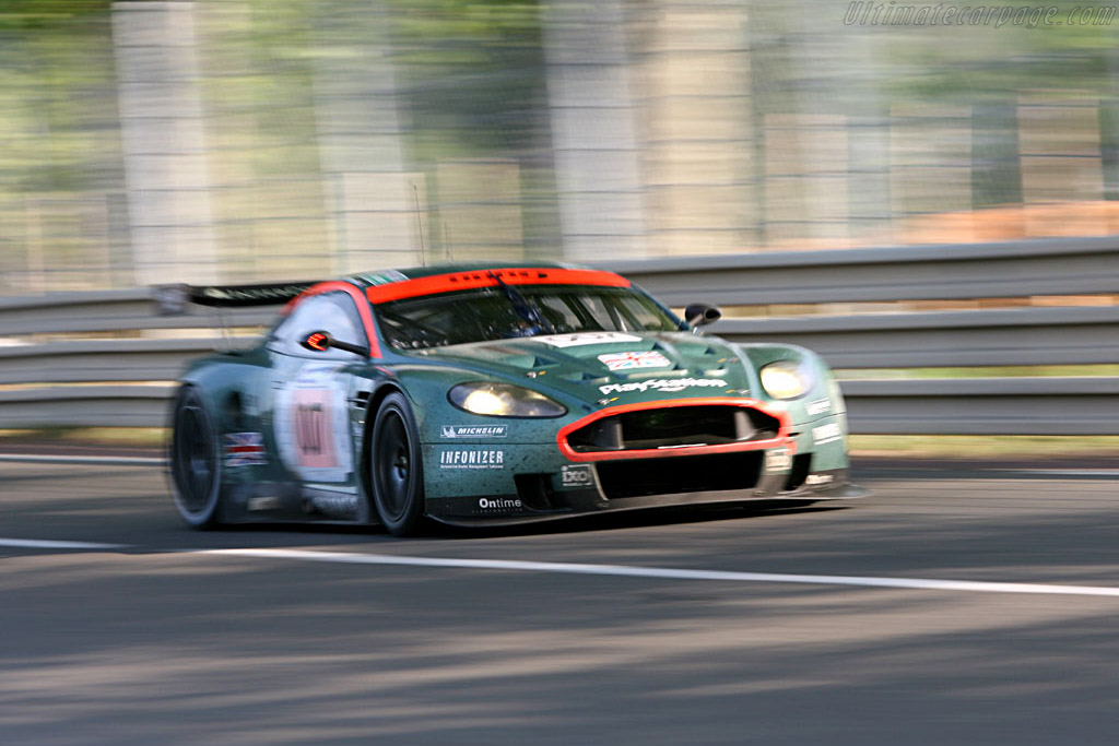 Aston at speed - Chassis: DBR9/3 - Entrant: Aston Martin Racing  - 2006 24 Hours of Le Mans