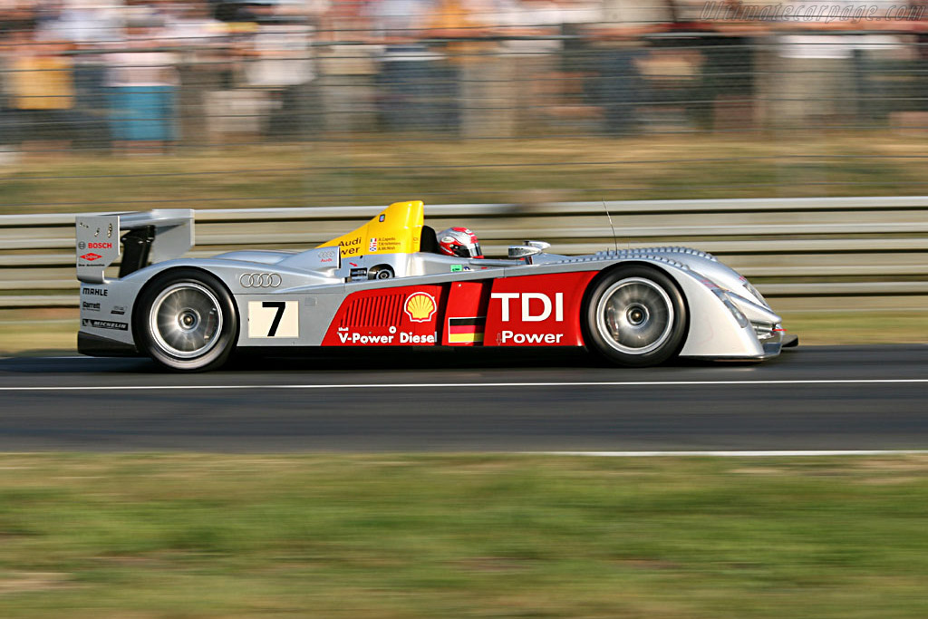 Audi R10 - Chassis: 103 - Entrant: Audi Sport Team Joest  - 2006 24 Hours of Le Mans