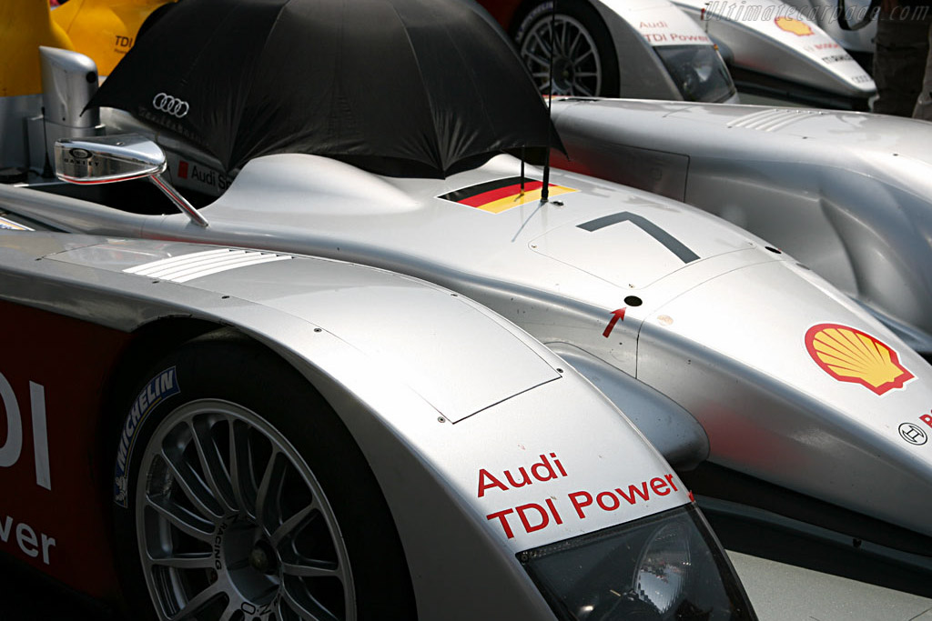 Audi front row - Chassis: 103 - Entrant: Audi Sport Team Joest  - 2006 24 Hours of Le Mans