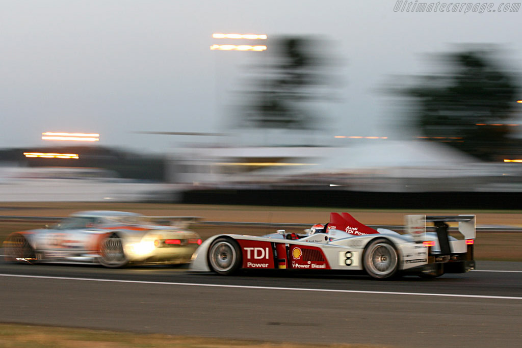 Audi power - Chassis: 102 - Entrant: Audi Sport Team Joest  - 2006 24 Hours of Le Mans