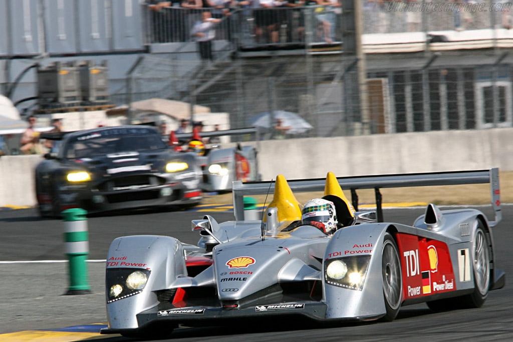 Audi sandwich - Chassis: 103 - Entrant: Audi Sport Team Joest  - 2006 24 Hours of Le Mans
