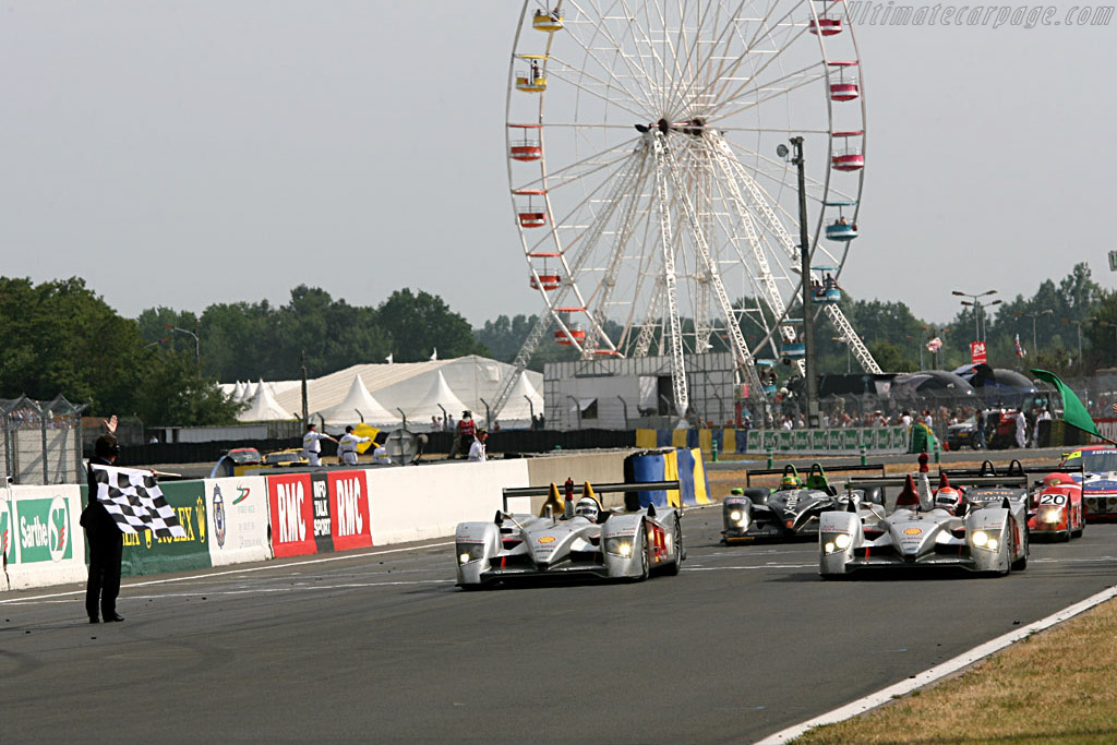 Congratulations! - Chassis: 102 - Entrant: Audi Sport Team Joest  - 2006 24 Hours of Le Mans