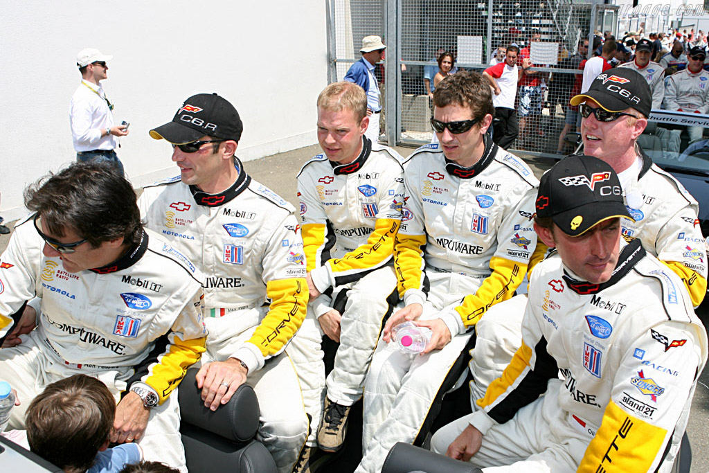 Corvette drivers    - 2006 24 Hours of Le Mans