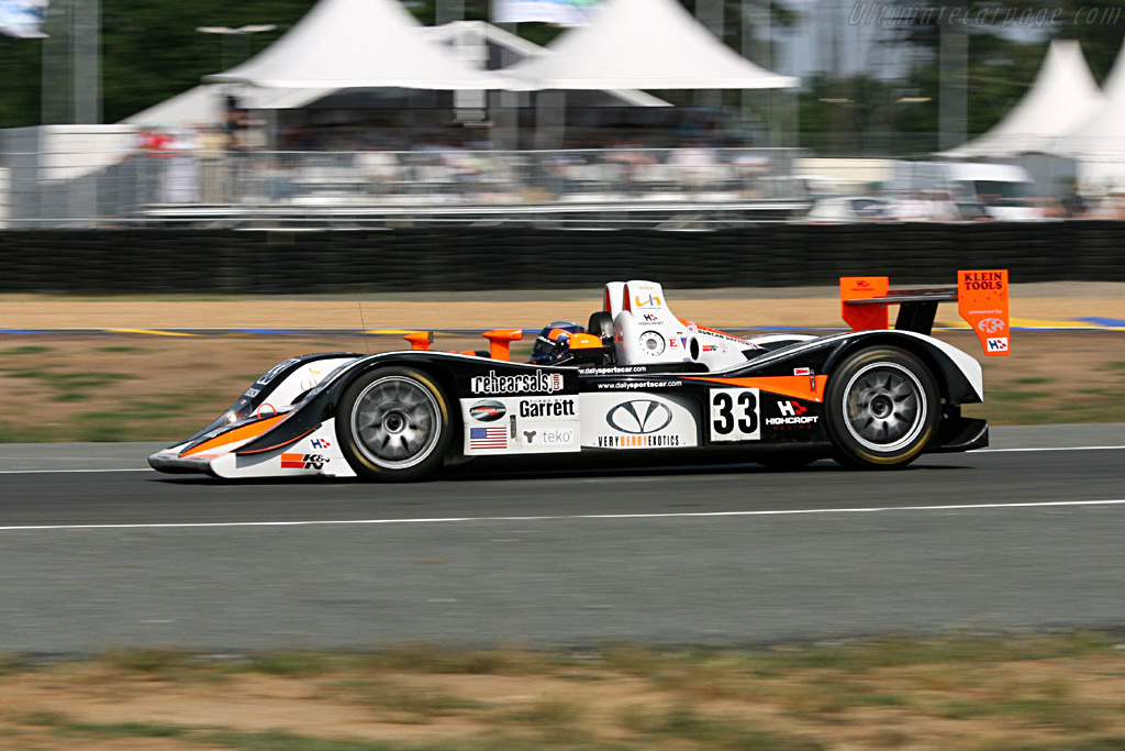 Difficult first stint for Liz Halliday - Chassis: B0540-HU04 - Entrant: Intersport Racing  - 2006 24 Hours of Le Mans