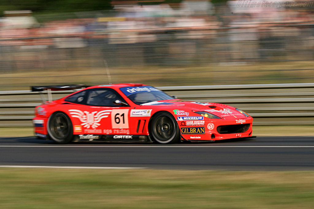 Ferrari 550 GTS Maranello - Chassis: 113136 - Entrant: Russian Age Racing  - 2006 24 Hours of Le Mans