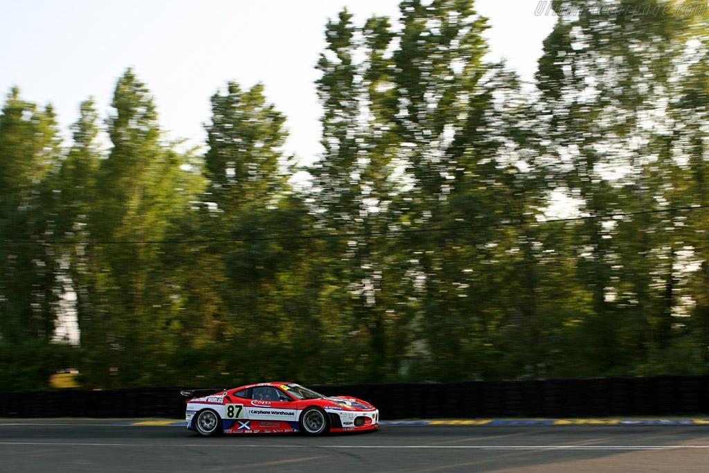 Ferrari F430 GTC - Chassis: 2418 - Entrant: Scuderia Ecosse  - 2006 24 Hours of Le Mans
