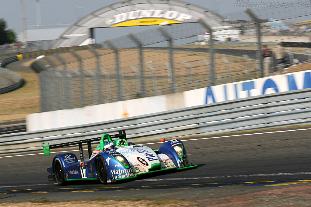 First petrol car to cross the line - Chassis: 3 - Entrant: Pescarolo Sport  - 2006 24 Hours of Le Mans
