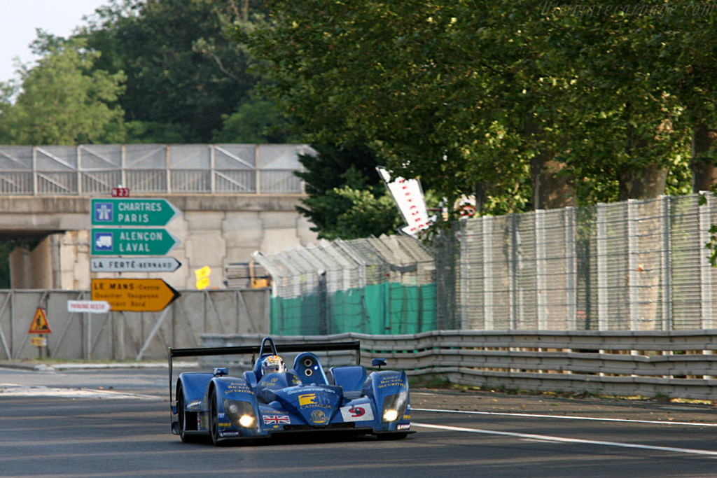 From Tetre Rouge,  it's public road - Chassis: CA06/H - 001 - Entrant: Creation Autosportif ltd.  - 2006 24 Hours of Le Mans
