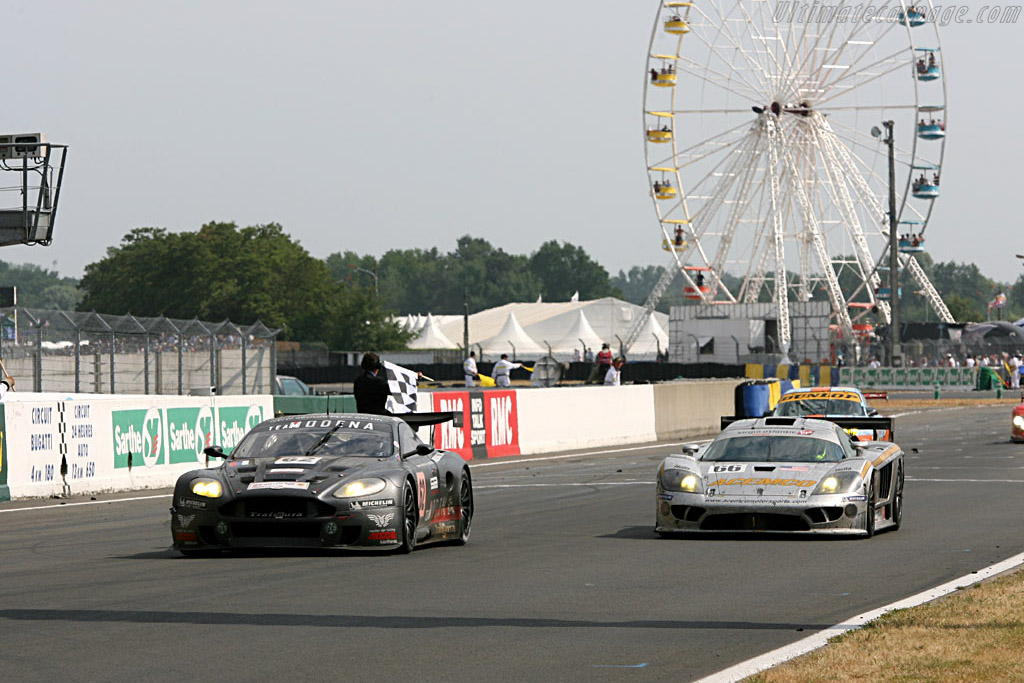 GT finishers - Chassis: DBR9/101 - Entrant: Russian Age Racing  - 2006 24 Hours of Le Mans