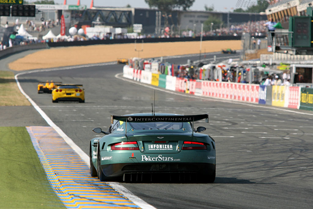 GT1 leaders for most of the race - Chassis: DBR9/2 - Entrant: Aston Martin Racing  - 2006 24 Hours of Le Mans