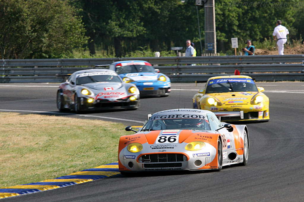 GT2s in the mix - Chassis: XL9GB11HX50363097 - Entrant: Spyker Squadron  - 2006 24 Hours of Le Mans