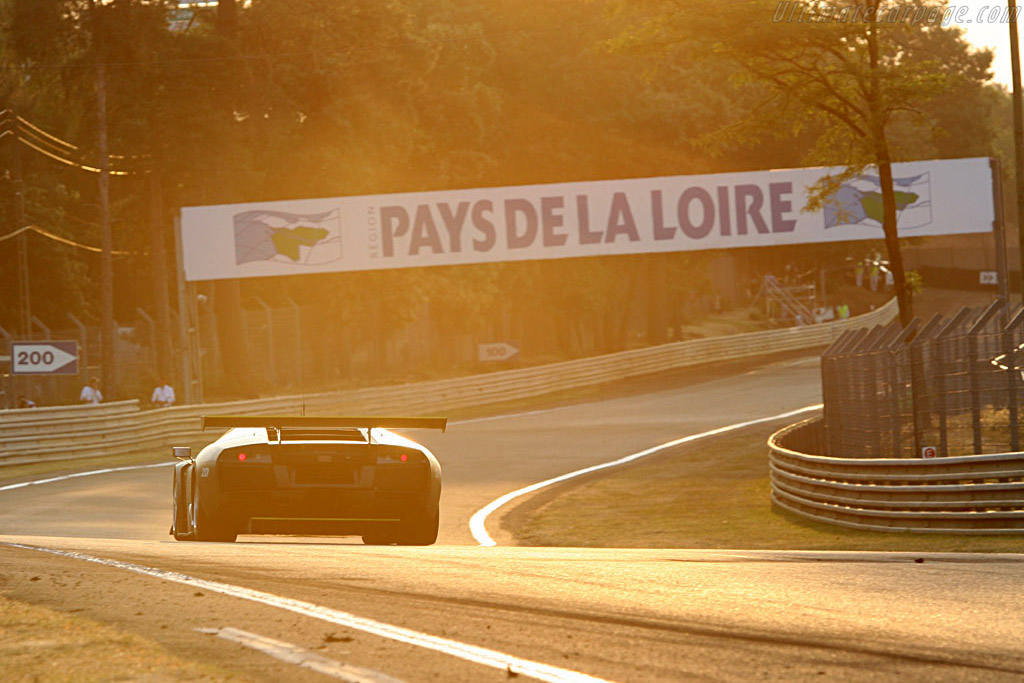 Good morning! - Chassis: LA01063 - Entrant: JLOC Isao Noritake  - 2006 24 Hours of Le Mans