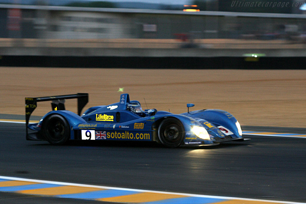 Good morning! - Chassis: CA06/H - 001 - Entrant: Creation Autosportif ltd.  - 2006 24 Hours of Le Mans