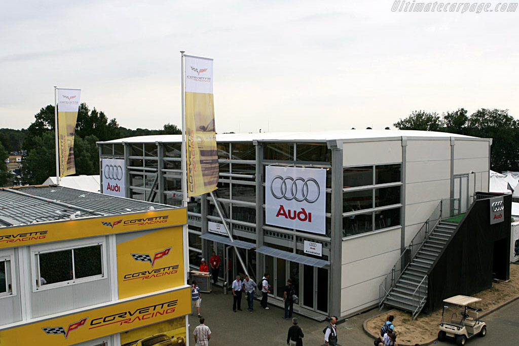 Hospitality with a capital H    - 2006 24 Hours of Le Mans
