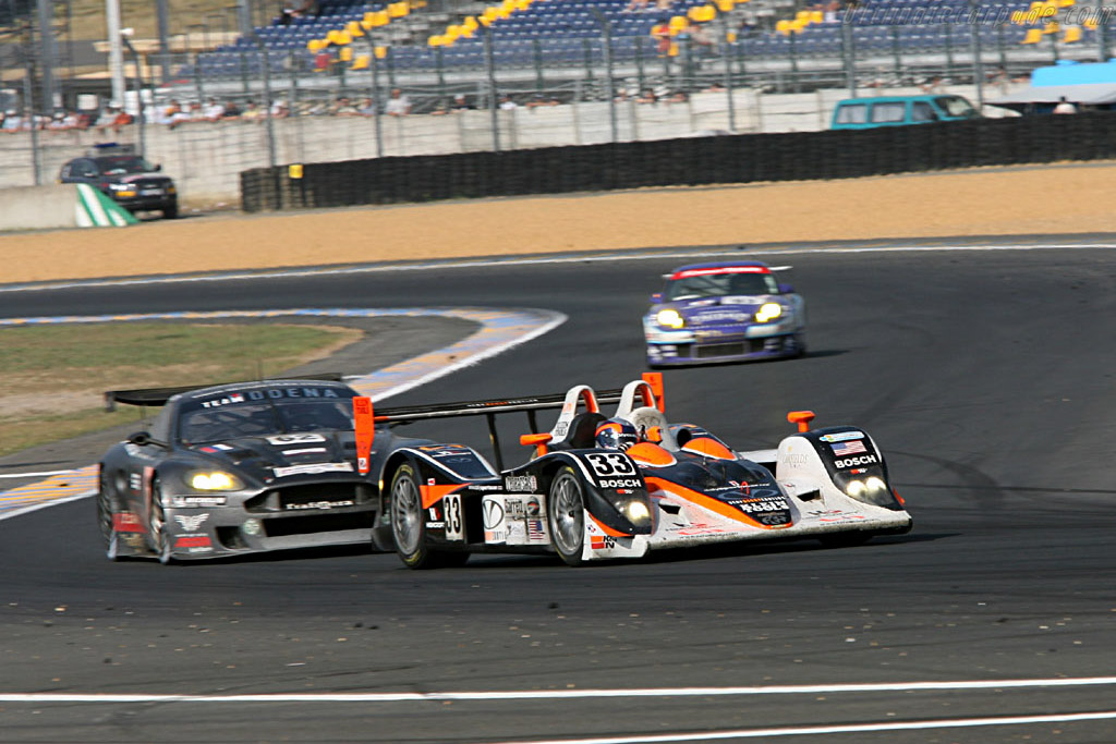 Intersport Lola, a rare finisher in LMP2 - Chassis: B0540-HU04 - Entrant: Intersport Racing  - 2006 24 Hours of Le Mans