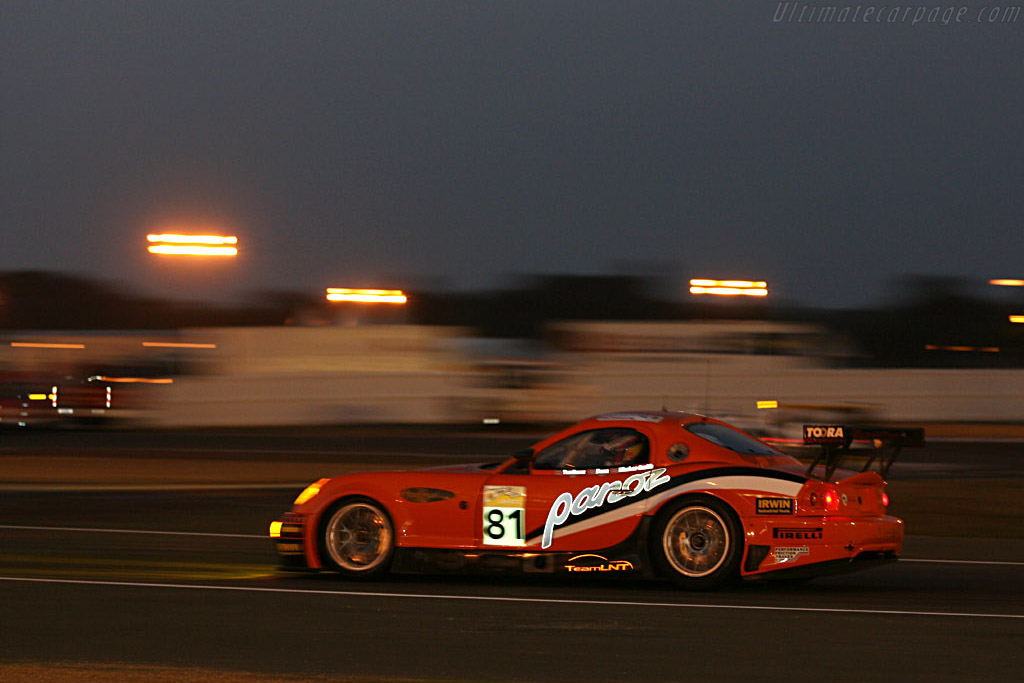 Into the night - Chassis: EGTLM 006 - Entrant: Team LNT  - 2006 24 Hours of Le Mans