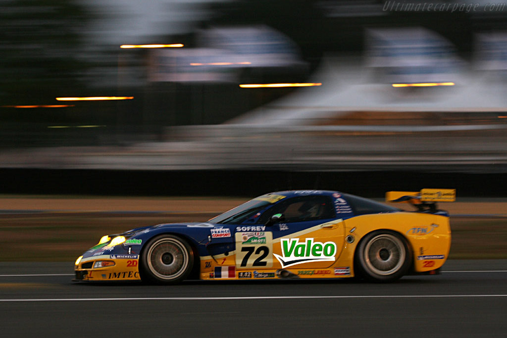 Into the night - Chassis: 010 - Entrant: Luc Alphand Adventures  - 2006 24 Hours of Le Mans