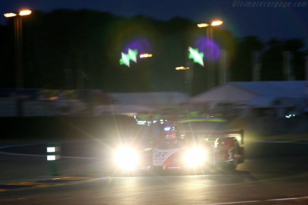 Into the night - Chassis: C60-9 - Entrant: Miracle Motorsports  - 2006 24 Hours of Le Mans