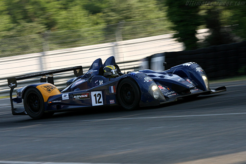JCB: one of motorsport's biggest supporter - Chassis: LC70-03 - Entrant: Courage Competition  - 2006 24 Hours of Le Mans