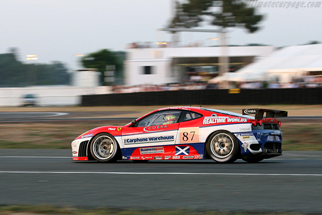 Kilts and Pizza: a strong combo - Chassis: 2418 - Entrant: Scuderia Ecosse  - 2006 24 Hours of Le Mans