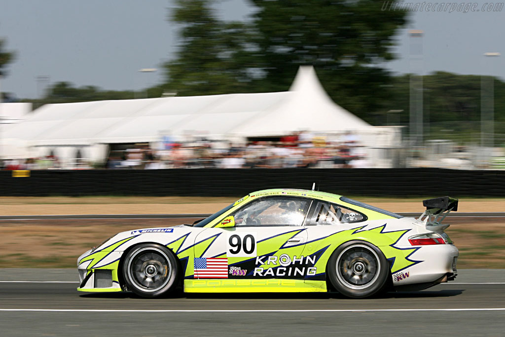 Krohn / White Lightning / Petersen Porsche - Chassis: WP0ZZZ99Z4S693066b - Entrant: White Lightning Racing  - 2006 24 Hours of Le Mans