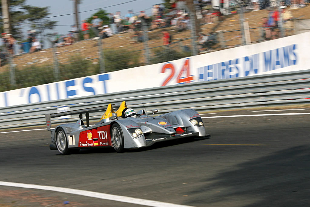 Le Mans: Audi's home away from home - Chassis: 103 - Entrant: Audi Sport Team Joest  - 2006 24 Hours of Le Mans