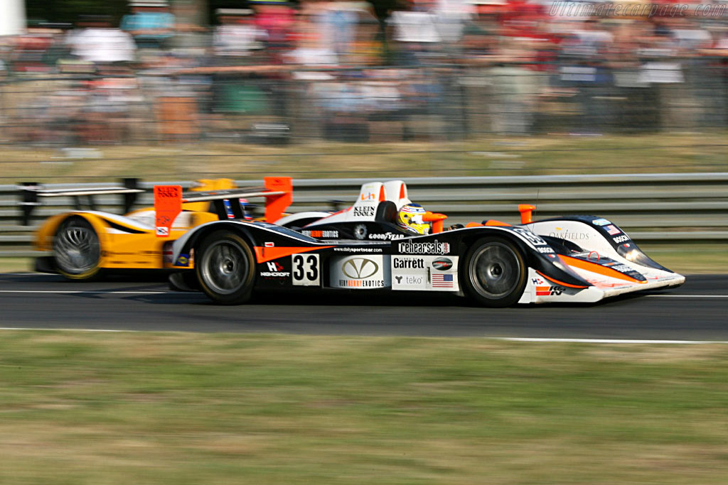Lola pair - Chassis: B0540-HU04 - Entrant: Intersport Racing  - 2006 24 Hours of Le Mans