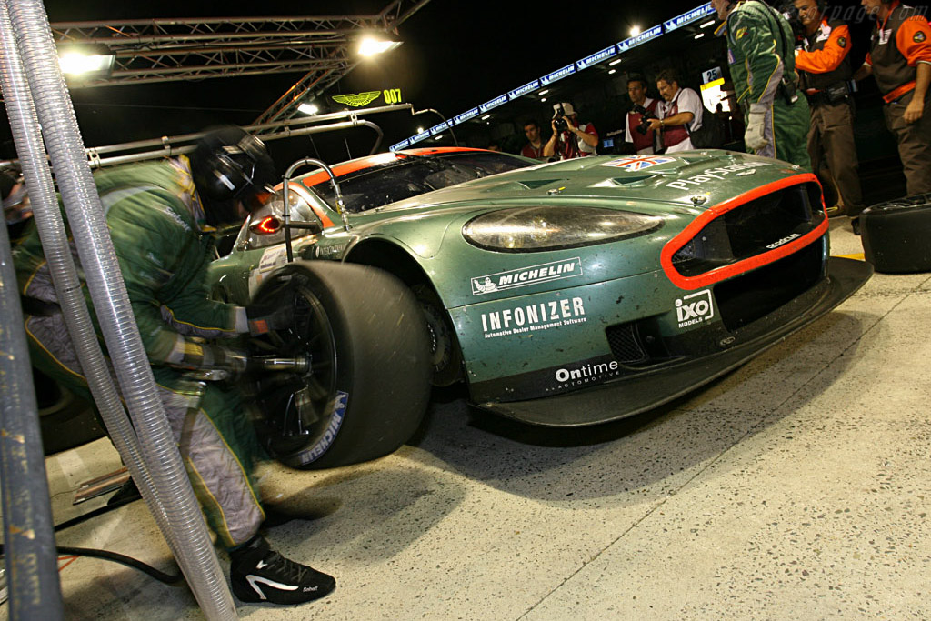My name is Bond, James Bond - Chassis: DBR9/2 - Entrant: Aston Martin Racing  - 2006 24 Hours of Le Mans