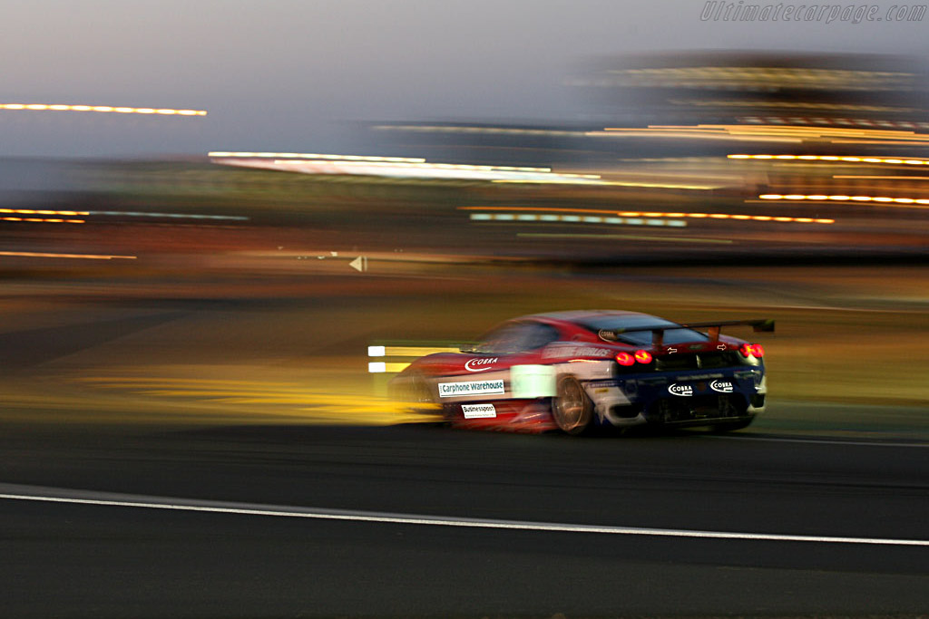 Night vision - Chassis: 2418 - Entrant: Scuderia Ecosse  - 2006 24 Hours of Le Mans