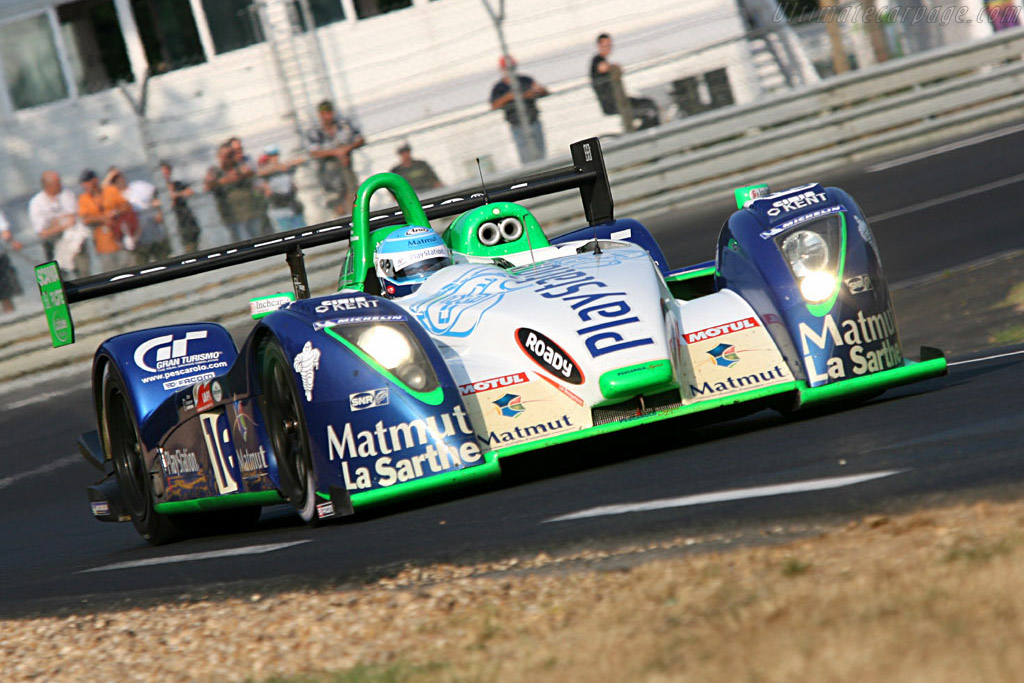 Pescarolo C60 Hybrid Judd - Chassis: 4 - Entrant: Pescarolo Sport  - 2006 24 Hours of Le Mans