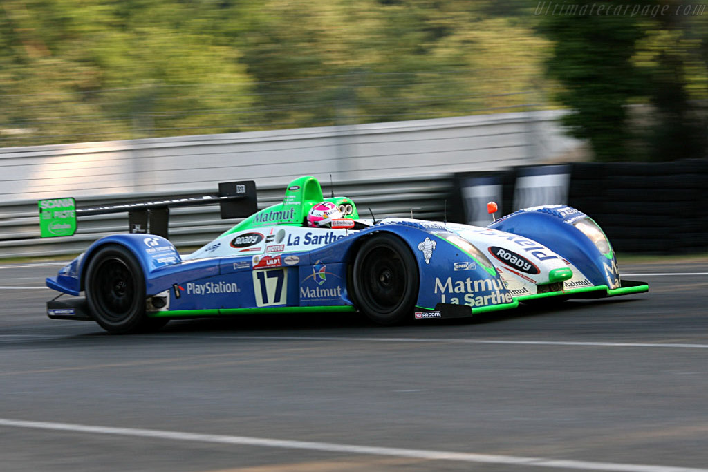 Pescarolo C60 Hybrid Judd - Chassis: 3 - Entrant: Pescarolo Sport  - 2006 24 Hours of Le Mans