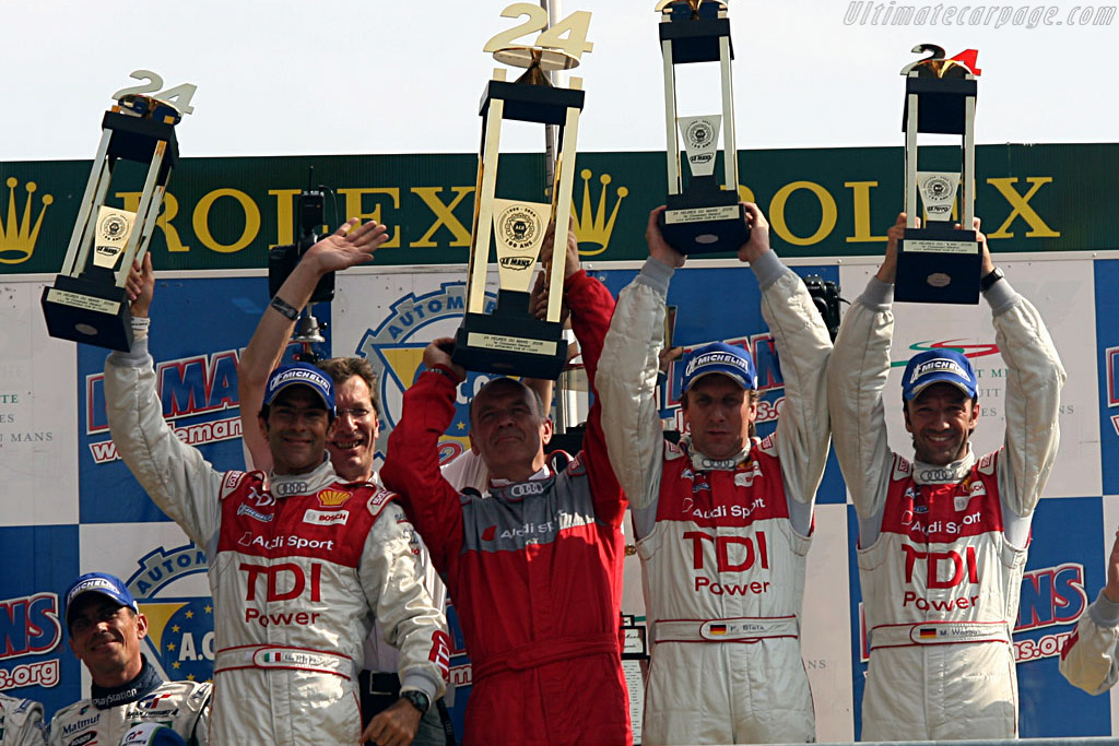Pirro, Joest, Ulrich, Biela and Werner    - 2006 24 Hours of Le Mans