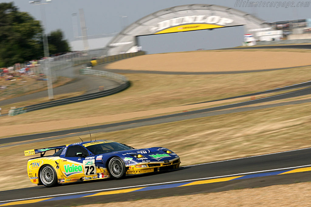 Podium for Alphand Adventures - Chassis: 010 - Entrant: Luc Alphand Adventures  - 2006 24 Hours of Le Mans
