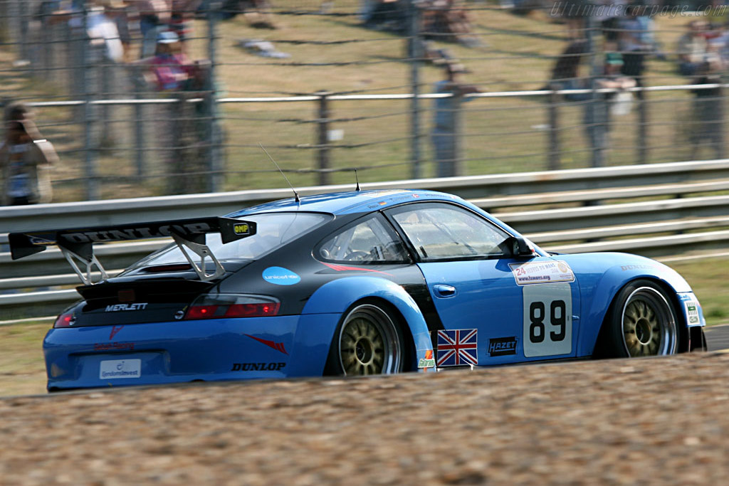 Porsche 996 GT3 RSR - Chassis: WP0ZZZ99Z4S693085 - Entrant: Sebah Automotive  - 2006 24 Hours of Le Mans