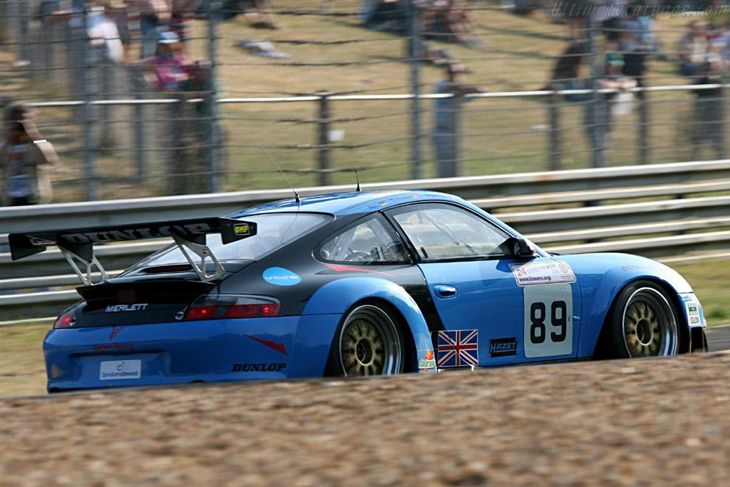 Porsche 996 GT3 RSR - Chassis: WP0ZZZ99Z4S693085 - Entrant: Sebah Automotive  - 2006 24 Hours of Le Mans