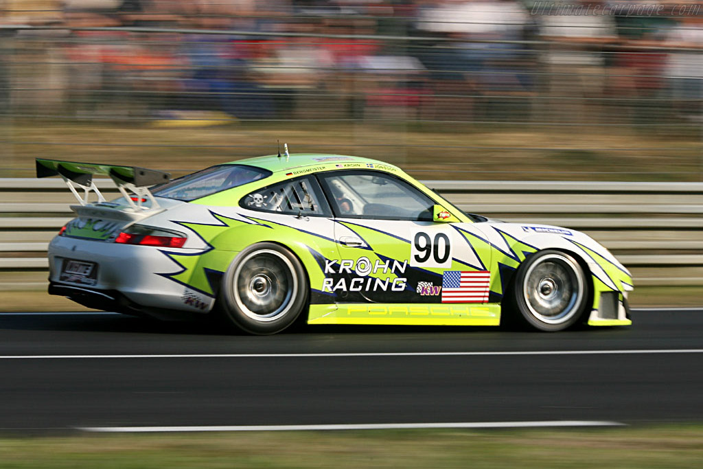 Porsche 996 GT3 RSR - Chassis: WP0ZZZ99Z4S693066b - Entrant: White Lightning Racing  - 2006 24 Hours of Le Mans