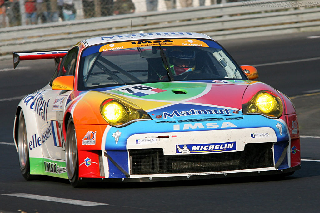 Porsche 996 GT3 RSR - Chassis: WP0ZZZ99Z4S693088 - Entrant: IMSA Performance Matmut  - 2006 24 Hours of Le Mans