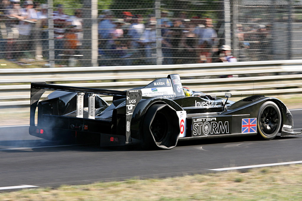 Punctures problematic on long lap - Chassis: 001 - Entrant: Lister Storm Racing  - 2006 24 Hours of Le Mans