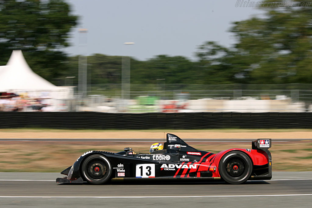 Quick but fragile Courage - Chassis: LC70-04 - Entrant: Courage Competition  - 2006 24 Hours of Le Mans