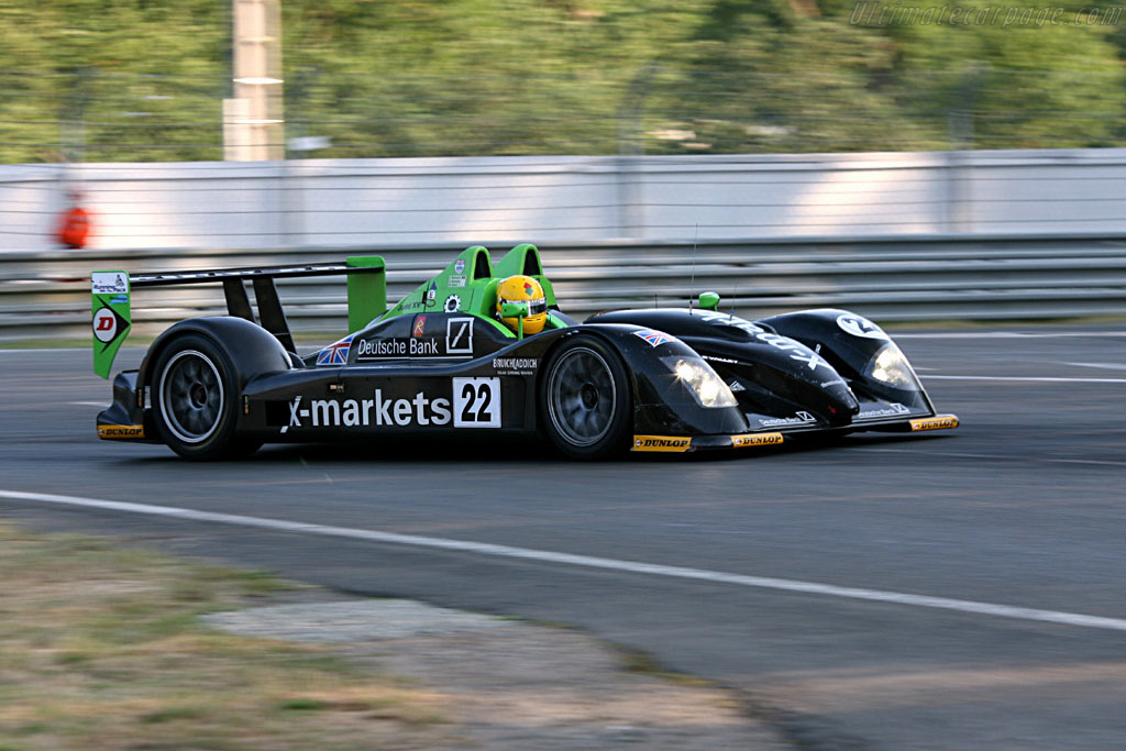 Radical SR9 Judd - Chassis: SR9001 - Entrant: Rollcentre Racing  - 2006 24 Hours of Le Mans
