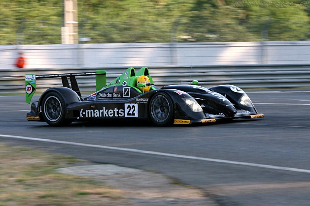 Radical SR9 Judd - Chassis: SR9001 - Entrant: Rollcentre Racing  - 2006 24 Hours of Le Mans